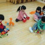 幼稚園での一日(年少組)