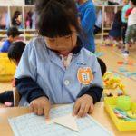幼稚園での一日