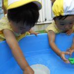 水遊び(保育園)