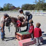年少組秋の遠足(乗馬体験)