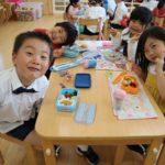 幼稚園での1日