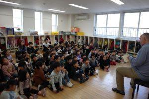 幼稚園での1日(年中組)