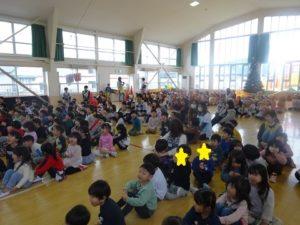 幼稚園での1日(年少組)