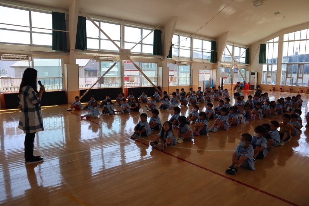 1学期終業式(幼稚園)
