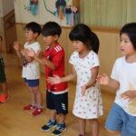 "<span class=""title"">幼稚園での様子(年長組)</span>"